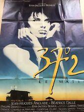 Lot de 5 affiches de cinéma : 37,2 ; Le grand bleu ; Singles ; A la recherche Mr