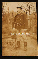 Altes Portrait Foto Matrosen Infanterie Flandern ? 1915