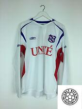 HEERENVEEN #9 *PLAYER ISSUED* 05/06 L/S Away Football Shirt (XL) Soccer Jersey