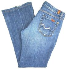 Seven for All Mankind Womens Size 28x29 A Pocket Jeans Glitter Made in USA