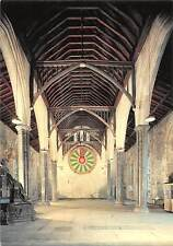 The Great Hall of Winchester Castle, Interior of Great Hall Round Table