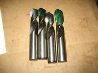 43/64 COBALT STUB DRILLS, GOOD CONDITION (ZA0285-1)