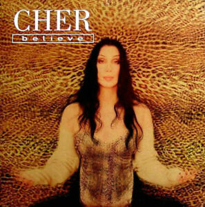 CHER - BELIEVE -  CD SINGLE CARDSLEEVE 2 TITRES 1998