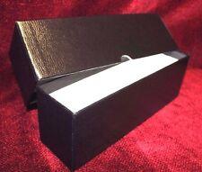 "5 Coin Slab Storage Box Single Row Black GUARDHOUSE Holds 26 Slab Each 10"" Case"