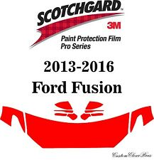 3M Scotchgard Paint Protection Film Pro Series 2013 2014 2015 2016 Ford Fusion