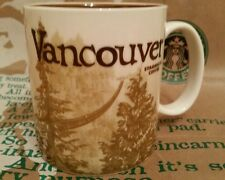 Starbucks Coffee Mug/Tasse/Becher VANCOUVER/Canada, Global Icon,NEU & unbenutzt!