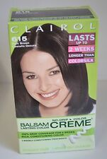 2 LOT CLAIROL BALSAM 615 Dark BROWN Castana Oscuro Women Hair COLOR Creme 2007