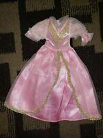 Vintage Barbie doll princess gown dress