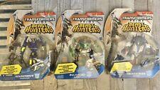 Transformers Prime Beast Hunters Lot Soundwave, Smokescreen, Bulkhead NEW
