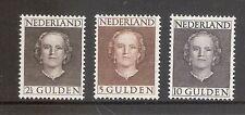 Nederland    Nummer  535/537   Ongebruikt.