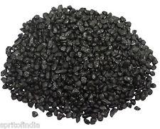 Hi fish aquarium water Black color gravel 2kg stone pebbles chips decoration