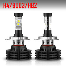 2x H4 HB2 1900W 285000LM LED Headlight Kits Hi-Low Beam Bulbs Replace XENON HID