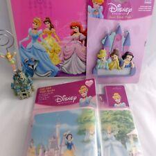 Disney Princess Pink Girls Bedroom Decor Bundle Wall Border Door Sign Picture