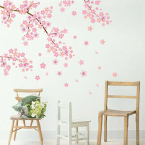 Plum Blossom Flower Tree Wall Sticker Art Mural PVC Decal Home Room Christmas *