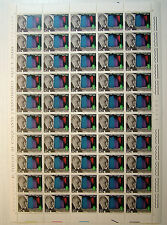 1967 ITALIA  40  lire Luigi Pirandello  foglio intero MNH**