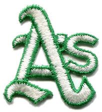 "1973-81 OAKLAND A'S MLB BASEBALL VINTAGE 1 7/8"" HAT SIZE TEAM LOGO PATCH"