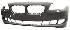 BMW 5 Series F10 2010-2013 PARAURTI ANTERIORE CON VALVOLA A & PDC Sensore Foro Nuovo