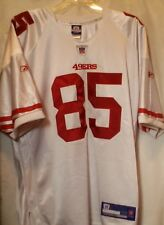 Reebok San Francisco 49ers Vernon Davis   85 Authentic Jersey White Size 48 2bd85028b