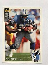1994 Collectors Choice Football #86 Barry Sanders Detroit Lions HOF NM/MT
