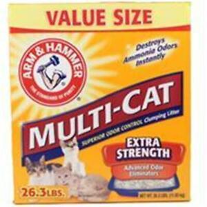 Church & Dwight Co Inc-Arm & Hammer Multi-cat Litter 26.3 Pound