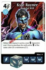 051 KYLE RAYNER Hopeful Will - Common - WAR OF LIGHT - DC Dice Masters