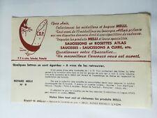 Blotting Paper - Products Melli Colman's English Mustard Lyon - N° 9