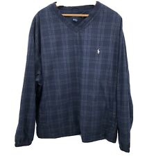 Polo Golf Ralph Lauren Lined Wind Pullover Sz XL Gently Used