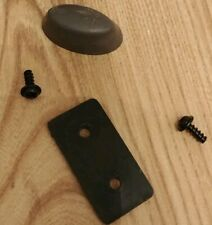 Samsonite Replacement Part Plastic Luggage Side Stud Foot Feet Pad gray