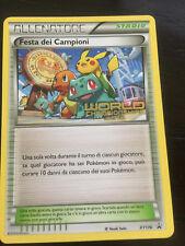CHAMPIONS FESTIVAL XY176 FESTA DEI CAMPIONI WORLDS 2016 - ITALIAN Pokemon Card