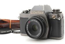 """""""EXC+++++"""" CONTAX S2b 35mm SLR Film Camera w/ Tessar 45mm f2.8 AEJ From Japan"""