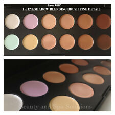 12 COLOUR PROFESSIONAL MAKEUP CONTOUR CONCEALER FOUNDATION NEUTRAL PALETTE