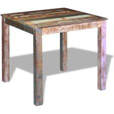 vidaXL Massivholz Esstisch Küchentisch Esszimmertisch Speisetisch 80x82x76 cm
