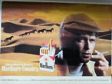 Marlboro Country Malboro Cigarette Smoking Advert 1981 Great Wall Art