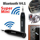 Car Aux 3.5mm Audio Wireless Bluetooth 4.1 Receiver Stereo Music Adapter W/ Mic