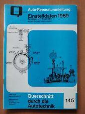 Oldtimer Bj 1969 Reparaturhandbuch Einstelldaten von Auto Union Skoda bis Dodge