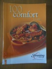SLIMMING WORLD 100 COMFORT FOODS ORIGINAL RED AND GREEN DAYS EX CONDITION