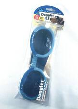 Doggles ILS Shiny Blue Frame / Blue Lens Eye Protection for Dogs Sz.Large