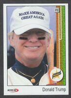 DONALD TRUMP 1989 Upper Deck Custom ACEO Baseball Card Ken Griffey Rookie Pose