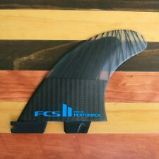 FCS II Performer Surfboard Fin Set PC Carbon AirCore Small, Med, Large, NEW