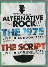 DVD  2 SHOWS  THE 1975 LIVE LONDON 2013 / THE SCRIPT LONDON 2014  NEW & SEALED