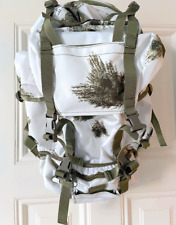 Snow camo military backpack
