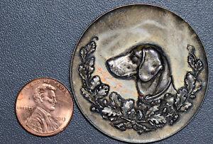Germany 1894 Medal silver Dusseldorf April dog show GE0075 combine