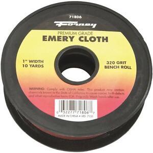Forney 320G Emery Cloth