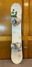 Salomon Radiant 148cm Twin-Tip All-Mtn Women's Snowboard +Flow Flight 2 Bindings
