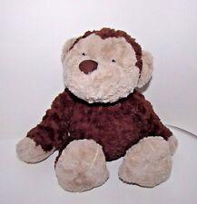 "JELLYCAT plush Medium 14"" Rollo monkey brown tan soft round pot belly"