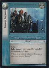 Lord of the Rings CCG TCG Two Towers - ALLIANCE REFORGED - RARE