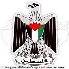PALÄSTINA Wappen, Palästinensische National Emblem Vinyl Sticker, Aufkleber 90mm
