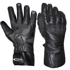 Winter Genuine Lined Leather Motorcycle Motorbike Gloves Cow Hide Waterproof