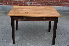 Teak Tisch antik shabby chic 120 cm Vintage Teakholz geölt massiv Esstisch