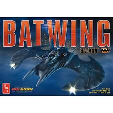 AMT 948 Batman Movie Batwing w/ backdrop display plastic model kit 1/25